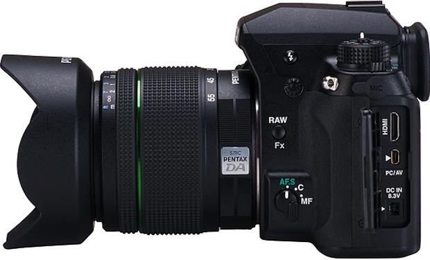 Pentax K-5 Digital SLR Camera - Side