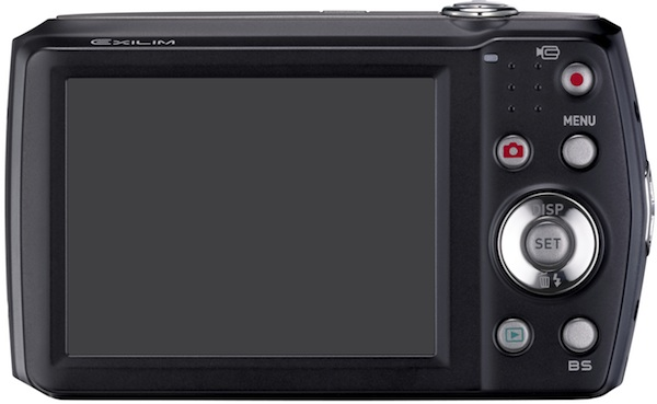 Casio EX-Z16 Exilim Digital Camera - Back