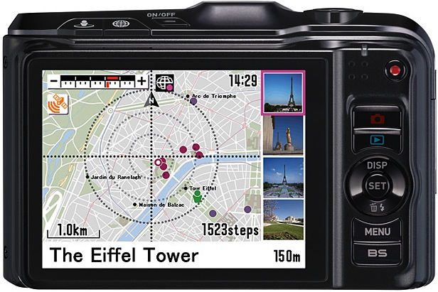 Casio EX-H20G Exilim Hybrid GPS Digital Camera