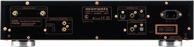 Marantz SA-KI Pearl Lite SACD Player - Back
