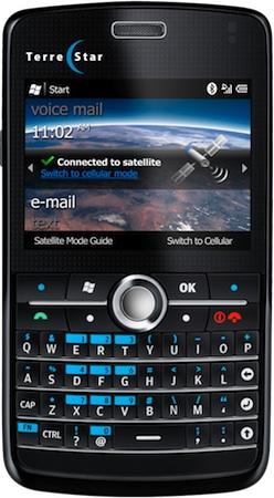 TerreStar GENUS Cellular/Satellite Smartphone