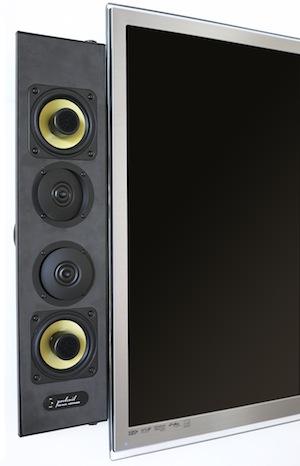 Artison Portrait Ultra Thin Attachable LCR DualMono Speakers