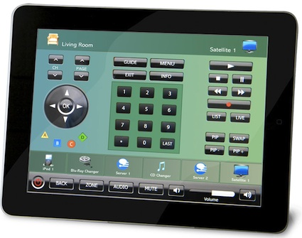 Xantech MX88 Controlled by iPad