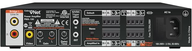 Colorado vNet PMA-100 Stereo Power Amplifier - Back