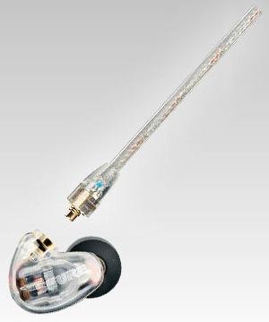Shure SE315-CL Clear In-Ear Headphones