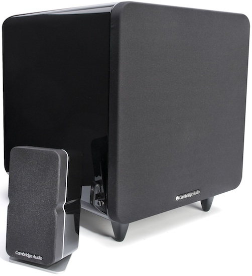Min20 with X500 Subwoofer