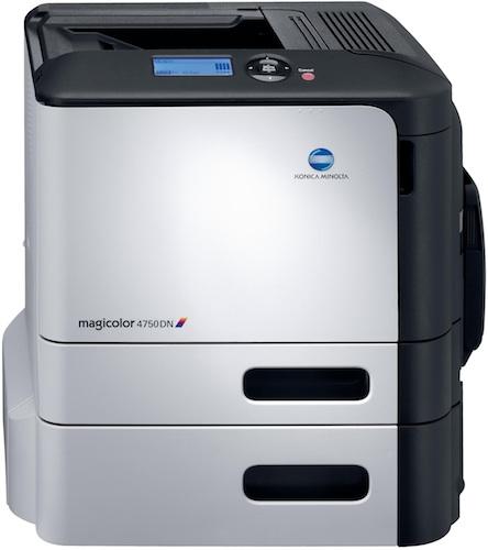 Konica Minolta magicolor 4750DN Color Printer