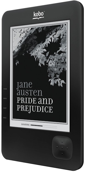 Kobo Wireless eReader - Black