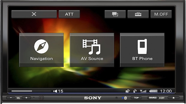 Sony XNV-770BT In-Dash A/V Navigation System