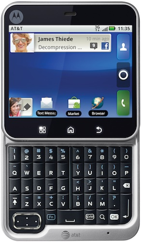 Motorola FLIPOUT Smartphone - Front