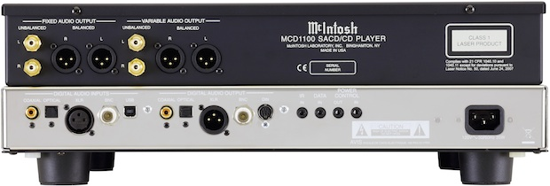 McIntosh MCD1100 SACD/CD Player - Back