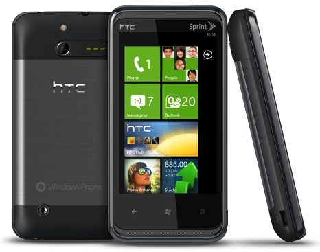 HTC 7 Pro Windows Smartphone
