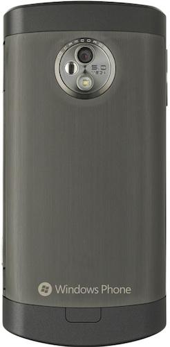 LG Optimus 7 Windows Smartphone - Back