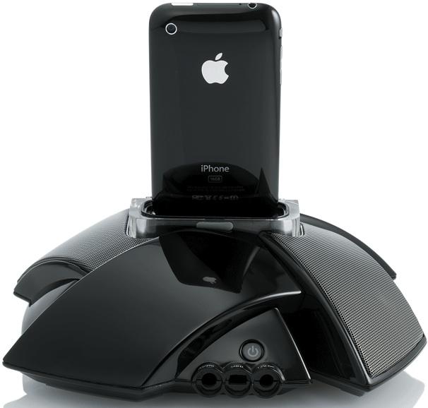 JBL On Stage IV iPod Speaker Dock - BAck