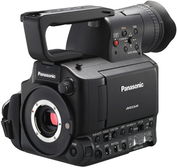Panasonic AG-AF100 Micro Four Thirds Professional HD Camcorder Body