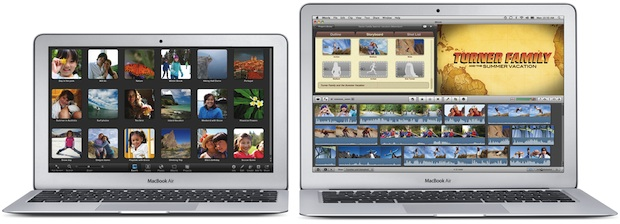 MacBook Air 11-inch and 13-inch Notebooks
