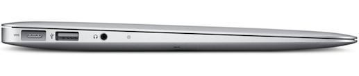 MacBook Air 11-inch Notebook - Side