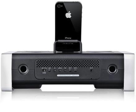 iHome iA100 Bluetooth Stereo System - Back