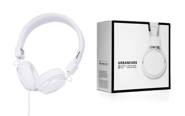 Urbanears Plattan Plus Headphones - White