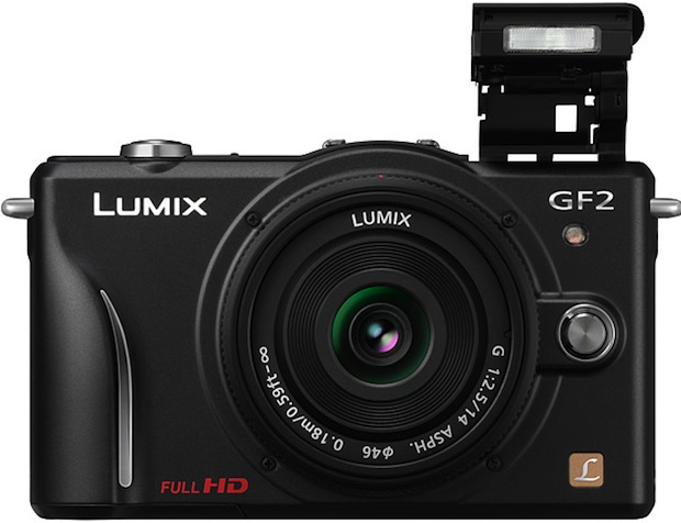 Panasonic DMC-GF2 Lumix DSLM Digital Camera - Front