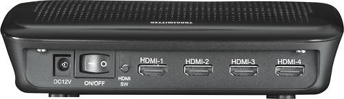 Rocketfish RF-WHD200 4-Port WirelessHD Kit - Back