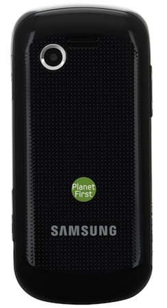 Samsung SGH-A667 Evergreen Cell Phone - Back