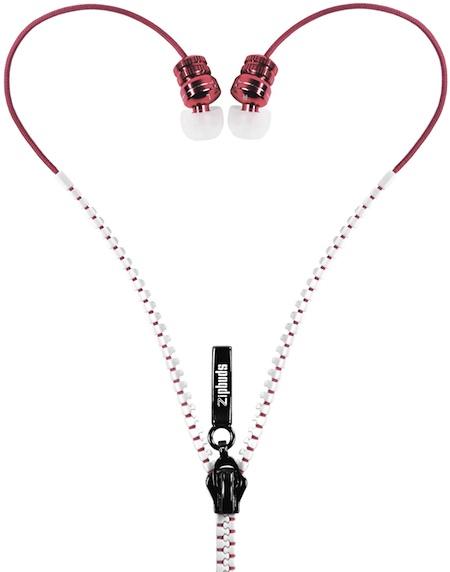 DGA Zipbuds In-Ear Headphones - Pink