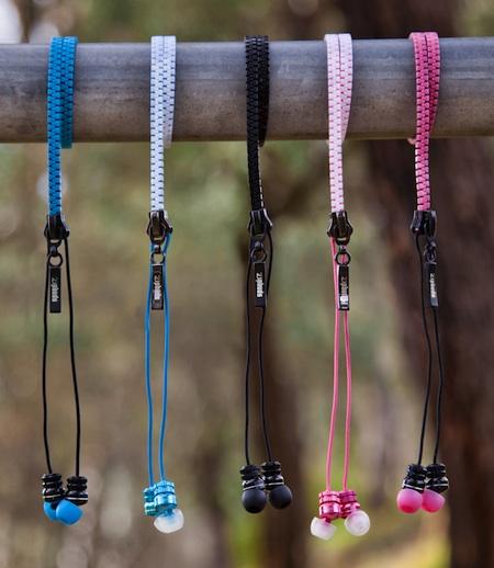 DGA Zipbuds In-Ear Headphones - Colors