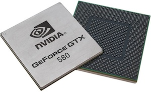 NVIDIA GeForce GTX 580 GPU