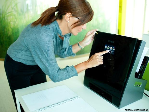 Lexmark Genesis S816 All-in-One Inkjet Printer in Office