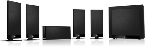 KEF T105 Flat Panel Home Theater Speaker System