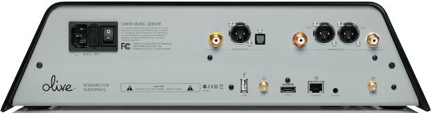 Olive O6HD Music Server - Back