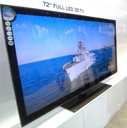 LG LZ9700 Full LED 3D 72-inch LCD HDTV