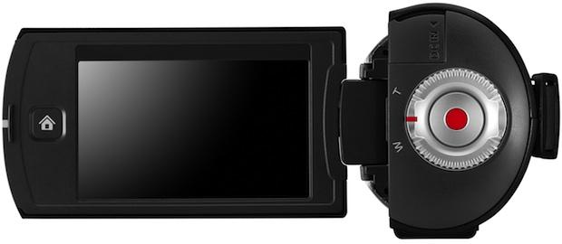 Samsung HMX-Q10 HD Camcorder - Open