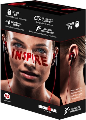 Yurbuds Ironman Series Earphones in Box