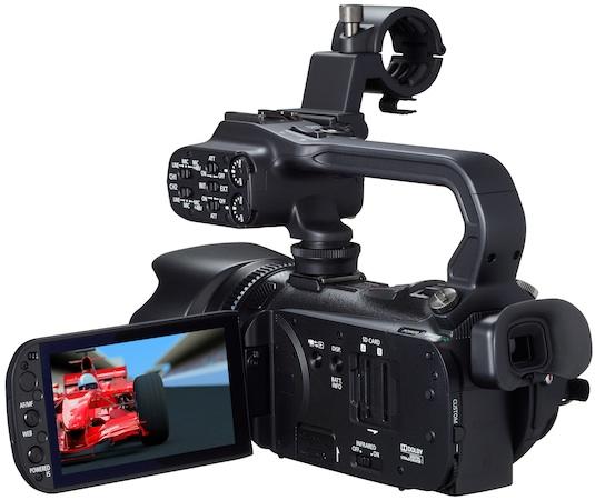 Canon XA10 Professional Camcorder - Back