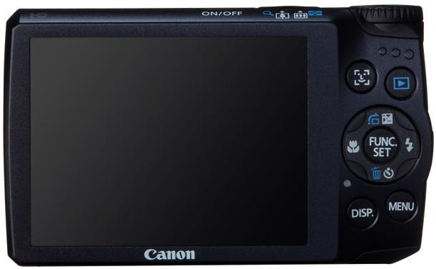 Canon PowerShot A3300 IS Digital Camera - Back