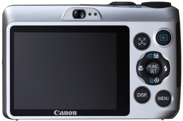Canon PowerShot A1200 Digital Camera - Back