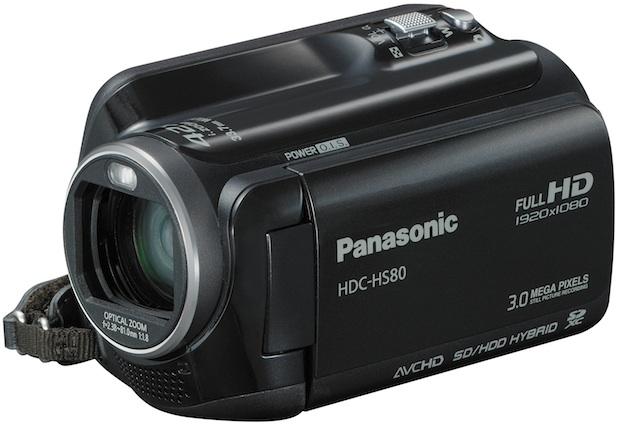 Panasonic HDC-HD80 Camcorder