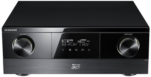 Samsung HW-D7000 Internet-Ready Integrated Blu-ray 7.1 AV Receiver