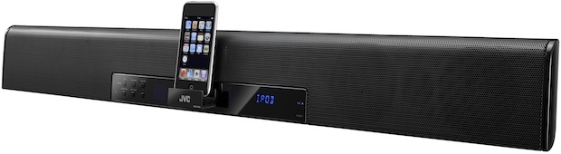 JVC TH-BC1 and TH-BC3 Soundbar Speaker System with iPod Dock