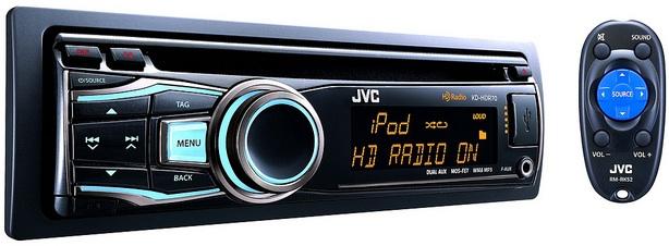 JVC KD-HDR70 CD Receiver