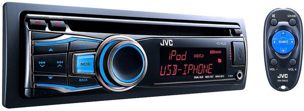JVC KD-R620 CD Receiver