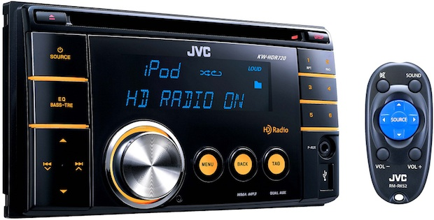 JVC KW-HDR720 Double Din CD Receiver