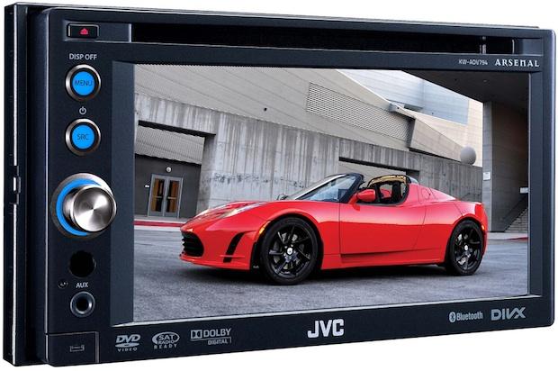 JVC Arsenal KW-ADV794 DVD/CD/USB receiver