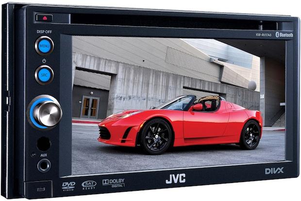 JVC KW-AVX740 Double-DIN AV Multimedia Receiver