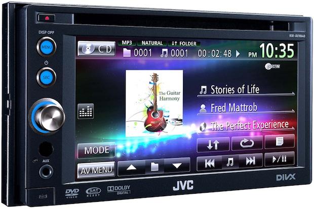 JVC KW-AVX640 Double-DIN AV Multimedia Receiver