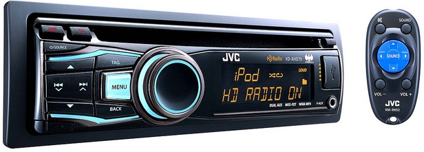 JVC KD-ADR79 CD Receiver