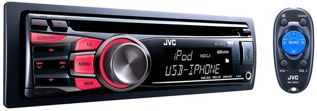 JVC KD-A525 CD Receiver