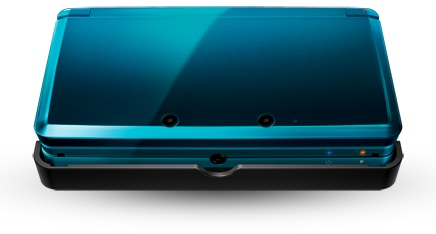 Nintendo 3DS Portable Video Game System - Aqua - Closed